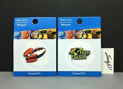 Disney Pixar Toy Story PIZZA PLANET PINS / ROCKET & LOGO / BOX LUNCH Excl. NEW