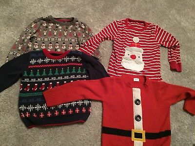 Boys Xmas Jumper Bundle 3-4 Years & 4-5 Years
