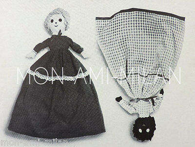Modified Vintage Cinderella Topsy Turvy Rag Doll Toy Sewing