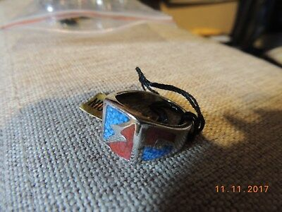 Ring mit Inlay NEU!