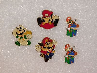 PIN 5 St. / SUPER MARIO / selten / inkl. Butterfly-Clips