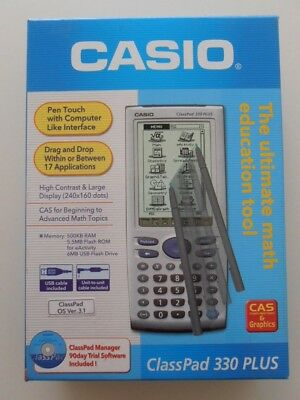 New Casio ClassPad 330 Plus Scientific Graphing Calculator Touch Screen.