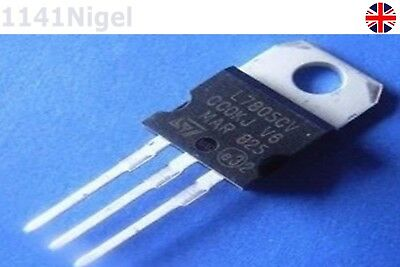 4 x L7805CV +5V Voltage Regulator TO-220 (LM7805 7805 78XX) UK Seller