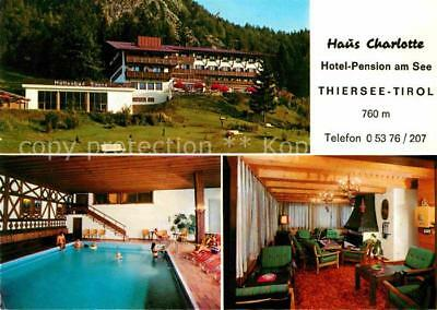 12602874 Thiersee Haus Charlotte Hotel Pension am See  Vorderthiersee