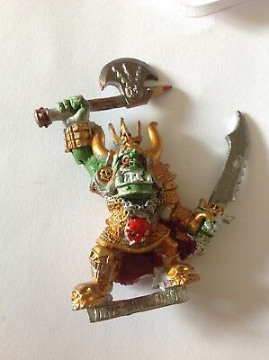 Games Workshop Warhammer Quest Lair of the Orc Lord Gorgut Metal Orcs Fantasy