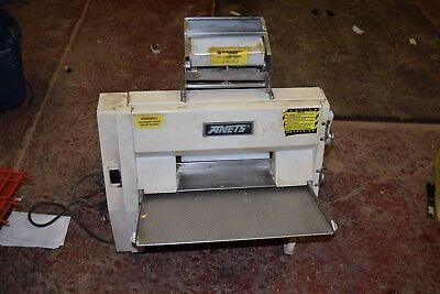 Anets SDR-21 Dough Roller Sheeter Double Pass Through Pizza Free Shipping