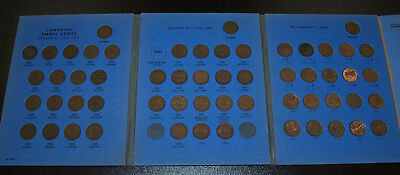 Full Set of Canada Small Cents 1920 - 1972 - Nice Condition!! (No 1936 w/dot)