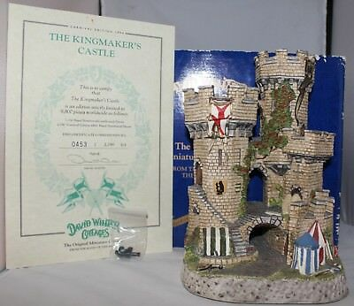 David Winter The Kingmaker's Castle Carnival Ed 1994 #453/2750 - Signed COA Box