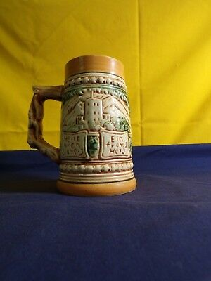 Stein Beer Stein Mug Cup Vintage Collectible