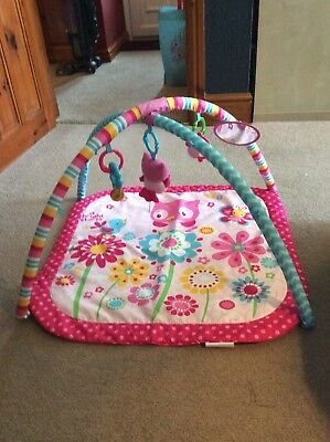 Bright Starts - Fancy Flowers Activity Gym - Pretty In Pink