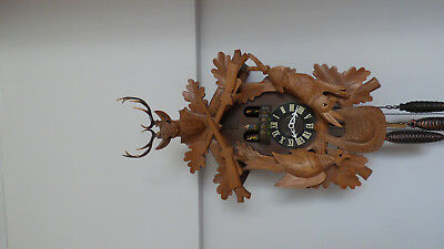 West German cookoo clock,chimes ,cookoo,musical .