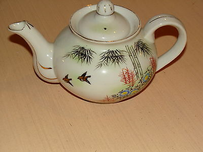 Old Teapot Made In Japan