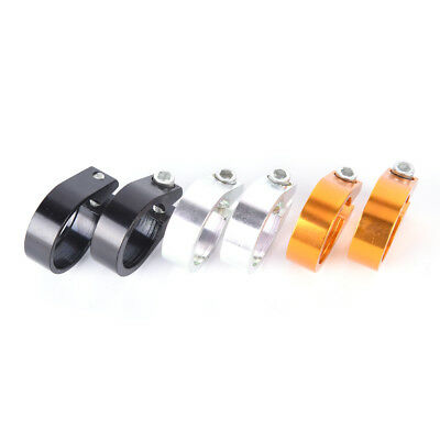 31.8/34.9mm Aluminum Alloy MTB Bike Bicycle Cycling Saddle Seat Post Clamp Ne PL