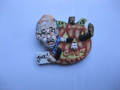Gov. Tom Wolf PA Governors Race 2018 Halloween Pumpkin Novelty Pin