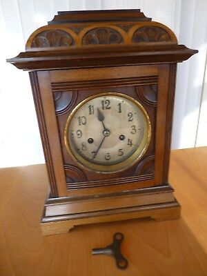 Chiming Mantle Mantel Clock Antique - COLLECTION ONLY