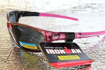 0ab3cb9a45 NEW IronMan by Foster Grant Women s Polarized Sunglasses VICTORIOUS Pink  25