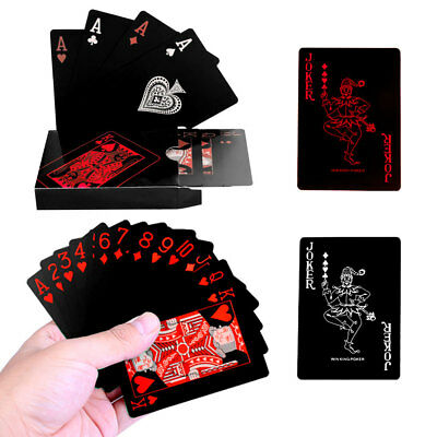 Waterproof Poker Playing Cards Quality Plastic Creative Gift Cards Game Durable