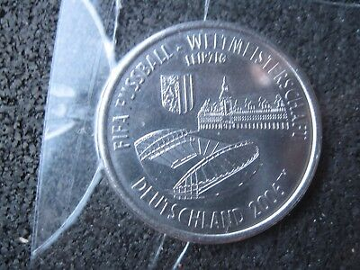 Fußball Medaille FIFA 2006   Leipzig