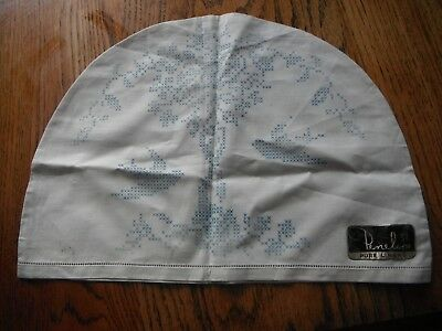 <Vintage Penelope Pure linen Tea Cosy To be Embroidered No Threads Birds & Flora