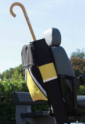 Mobility Scooter VISIBAG Holdall, Seat Bag Rucksack With Stick Holder