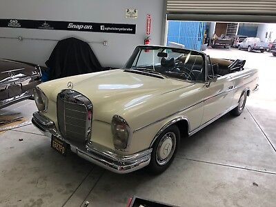 1964 Mercedes-Benz 200-Series 220se 1964 220se Cabriolet  original California car since 1967 no rust low miles
