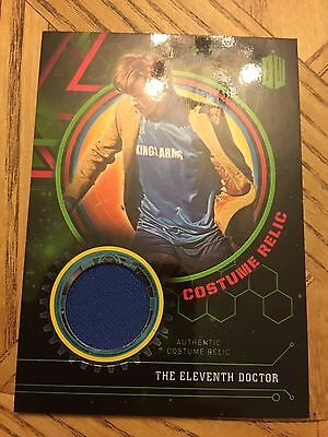 Topps Doctor Who Extraterrestrial 2016 Green Costume 003/199 Eleventh Doctor