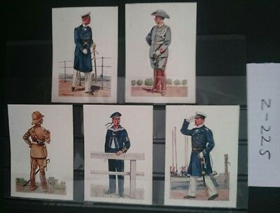 German Ww1 ,picture Cards /, 1914/18 ,colonial Marines/troops, Kaiser/ Somme.