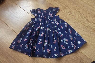 New Gorgeous Baby Girl 0-3 dress Blue Floral ditsy gg b kk next t b