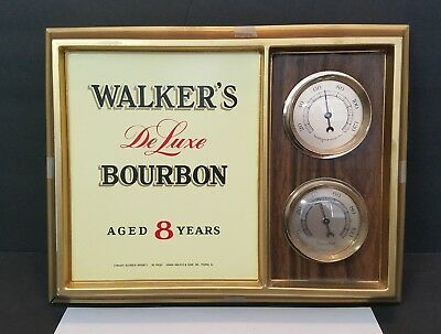 Walker's Deluxe Bourbon Wall Thermometer