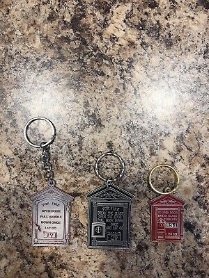 Gamewell Fire Alarm Box Keychains