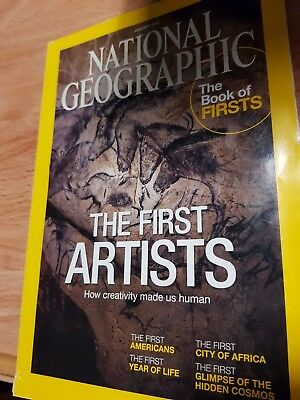 NATIONAL GEOGRAPHIC Magazine January 2015 - The First Artists