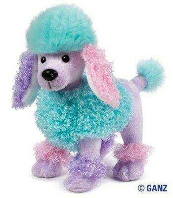 Webkinz Poofy Poodle New and Unused with Tags  so so cute and pretty!!!