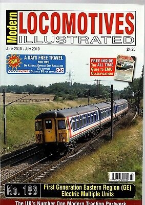 Modern Locomotives Illustrated No 183 1st Generation ER EMUs @ £4 inc post UK