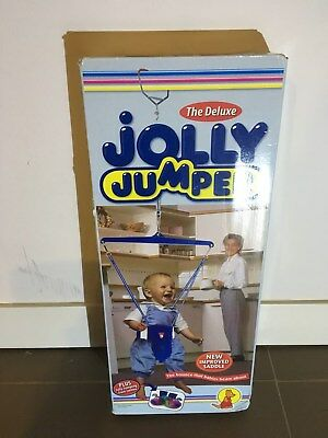 Jolly Jumper plus foot rattles and Trypot