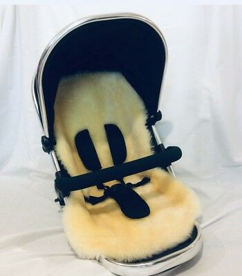 Baby Stroller / Pushchair / Car Seat / Bike Seat Lambskin Sheepskin Liner