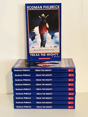 *NEW* Lot of 10 - FREAK THE MIGHTY - Philbrick - Guided Reading - Class Set