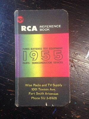 1955 RCA Reference Book Fort Smith Arkansas Radio Corporation of America