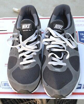 7dace9743f7e ... Men s Nike Air Max Turbulence NA Sneakers Athletic Shoes Grey Black  Size 13 ...
