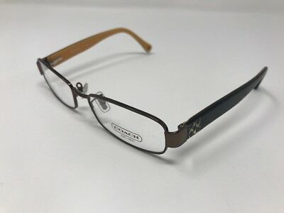 7d298bc8e5c AUTHENTIC COACH EYEGLASSES HC5001 9023 TARYN Mustard Brown 52-16-135mm HD89