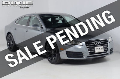 2014 Audi A7 Cold Weather Package-Navigation-Glass MoonRoof-Bos Cold Weather Package-Navigation-Glass MoonRoof-Bose Sound 4 dr Hatchback Automat