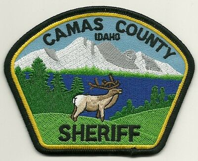 Camas County Sheriff State Idaho ID patch Scenic