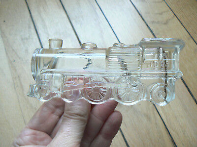 figural candy container - steam locomotive 1028