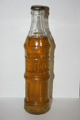 Rare Union 8 oz. Soda Bottle Full 3 RIVERS **MUST SEE** Beaumont, Texas