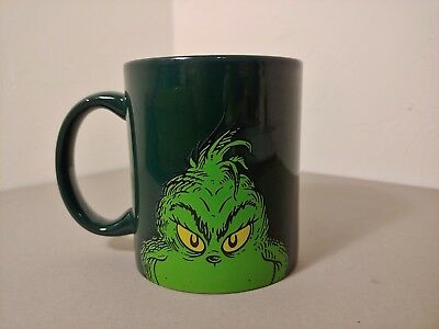 Dr. Seuss How The Grinch Stole Christmas! The Musical Coffee Mug Dark Green