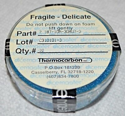 Dicemaster Thermocarbon 2.187 x 1.575 (2.187-10A-30RU7-3) Dicing Blade (10 Pack)