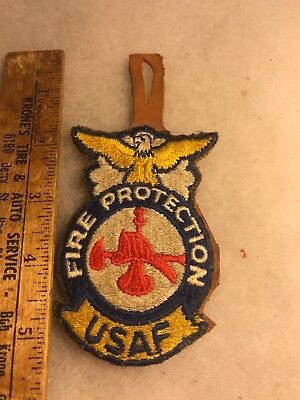 USAF Fire Protection Pocket Hanger Leather (A844