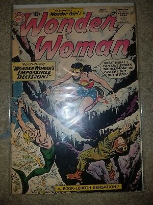 Wonder Woman #118 low grade