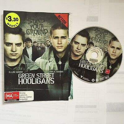 Green Street Hooligans (DVD, 2006) ExRental ACTION No Case, Disk & Sleeve ONLY