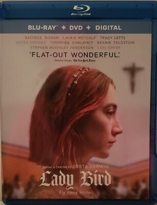 Lady Bird Blu-ray only in case,artwork and slip cover (no digital)