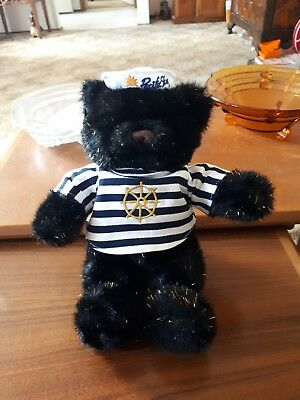 P&o Retired Pacific Sky Black Collectable Bear